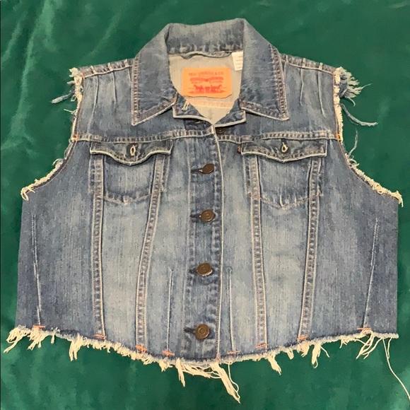 Levi's Jean Denim Vest Jacket